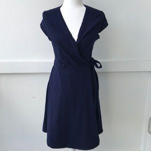 Dorthy Perkins Navy Blue Wrap Dress